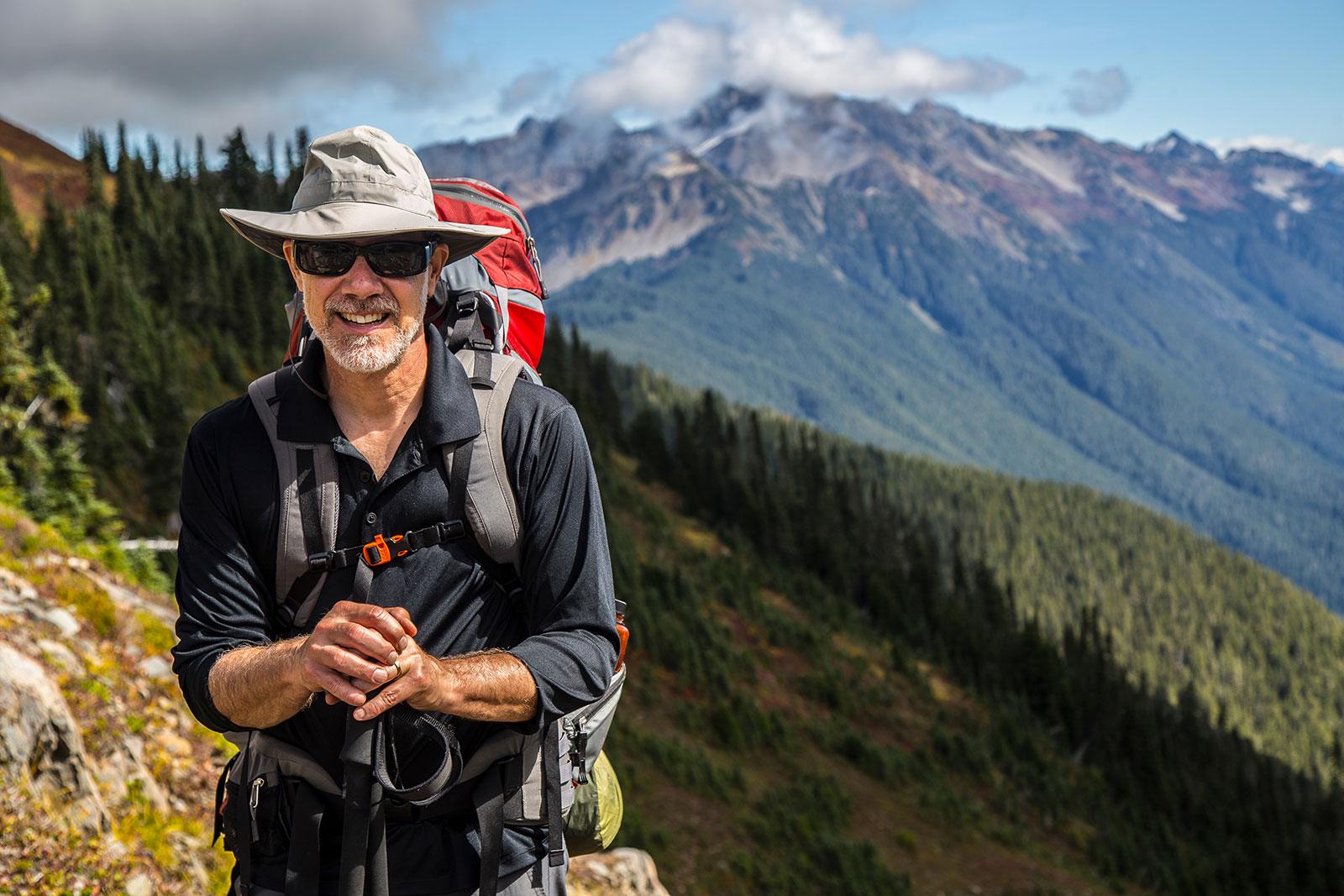 older-man-hiking-in-nature