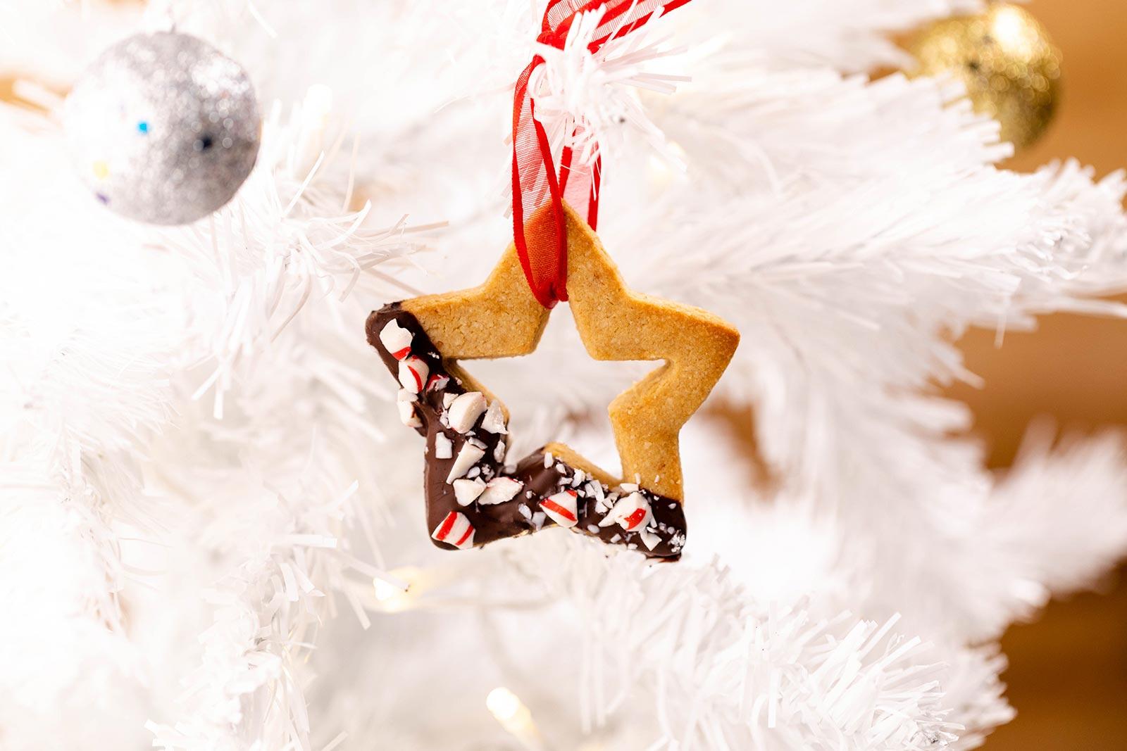 Dark Chocolate Mint Cookie Ornament