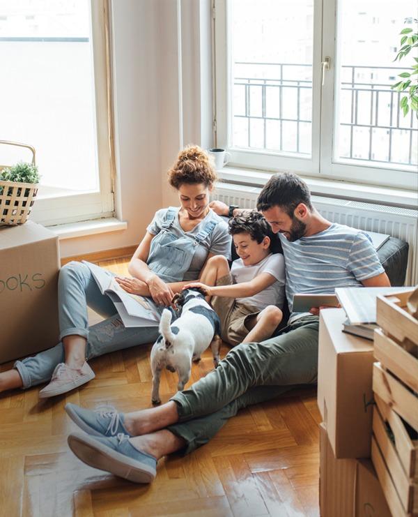 Family life photo